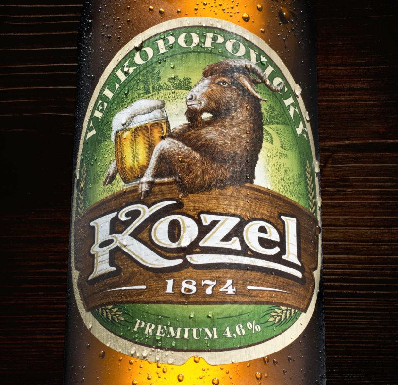Kozel Premium etiketa