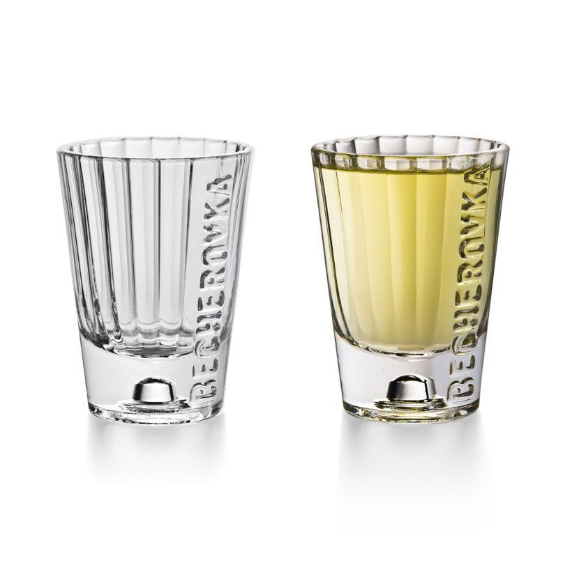 becherovka new shot glass