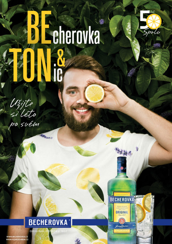 50 years aniversary Beton drink by Becherovka