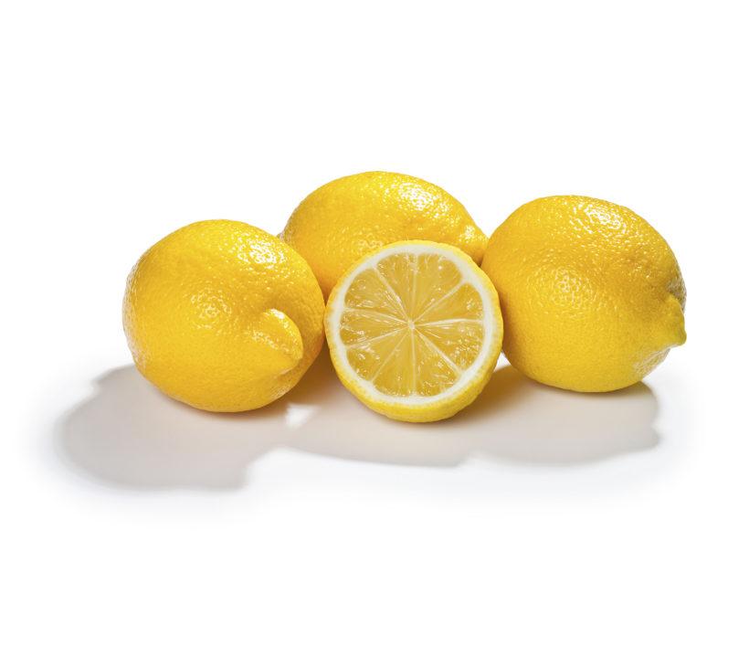 Fresh lemons for Billa market