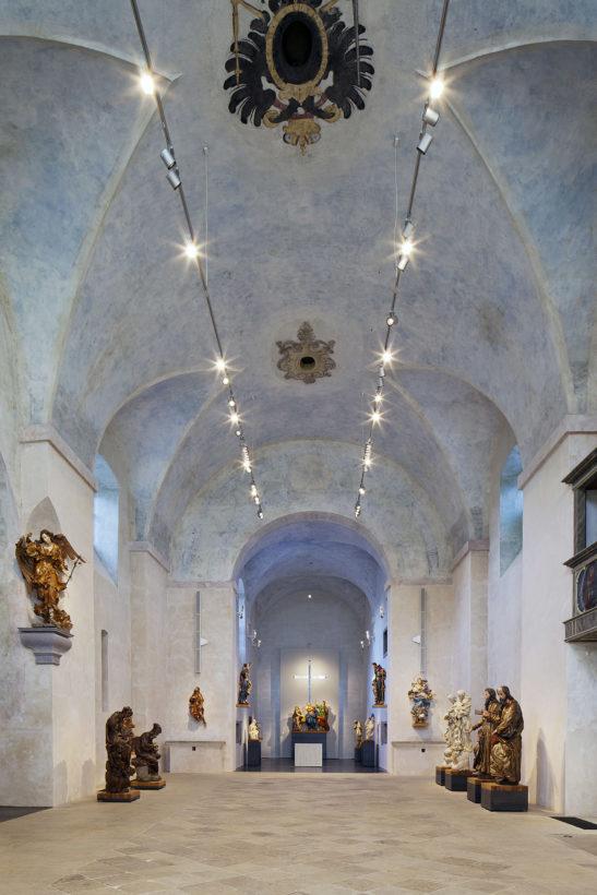Muzeum barokních soch, Projektil architekti, Chrudim