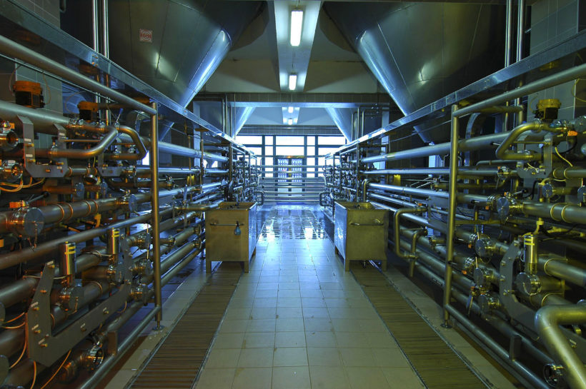 industry interior - Pilsner urquell brewery