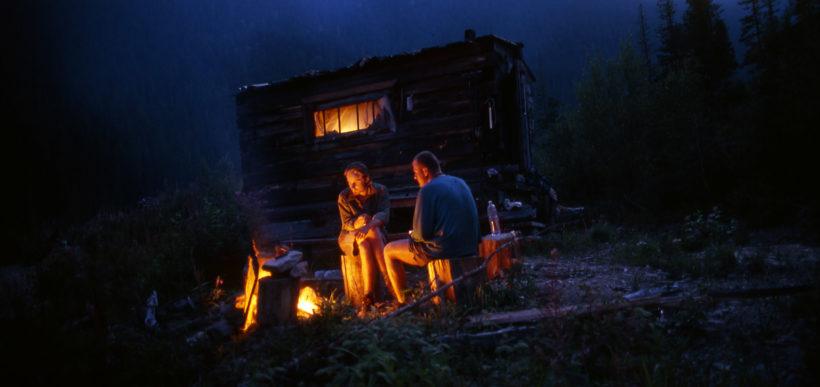 alone at tajga Altaj Russia