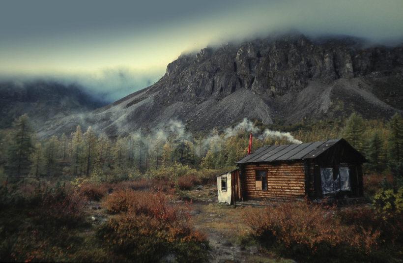 cabin at Kodar mountines Russia