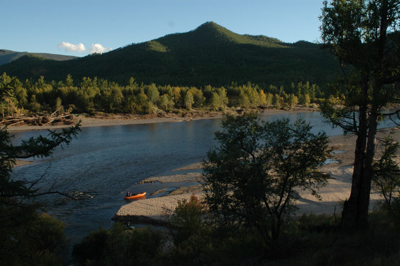 river Egingol Mongolia