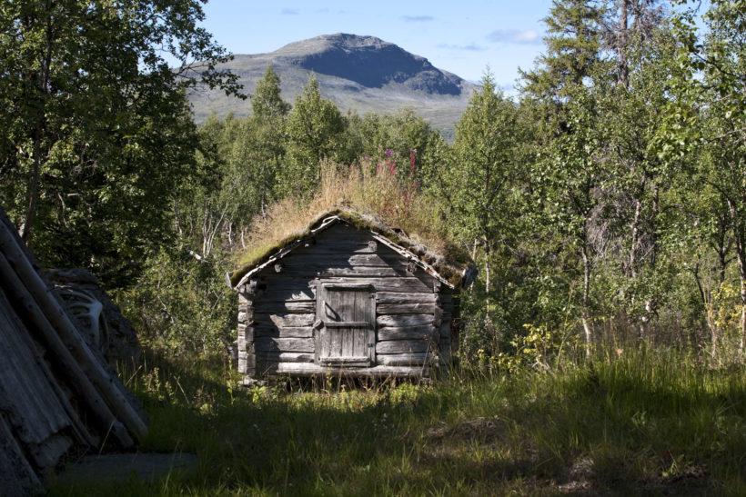 cabin at Sweden